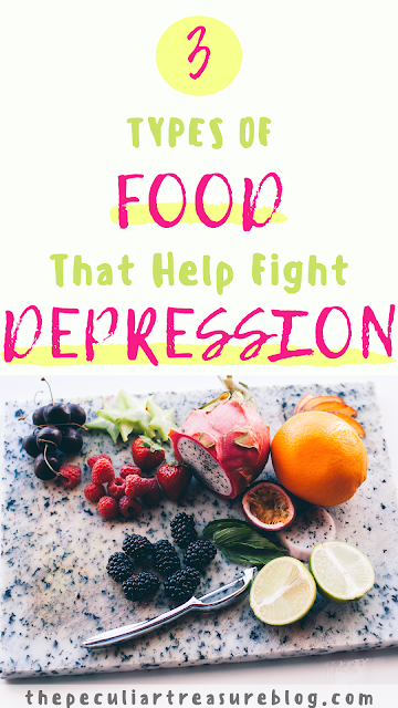 3 types of food that help fight depression.