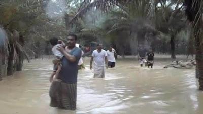 إعصار مكونو .. تفاصيل 48 ساعة من الرعب والدمار في عمان واليمن
