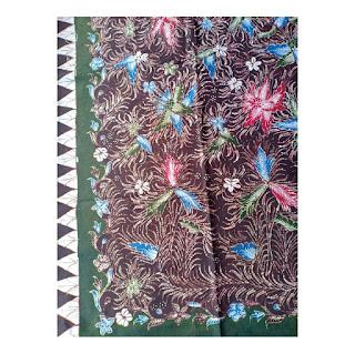 Batik Tulis Motif Sapu Lidi
