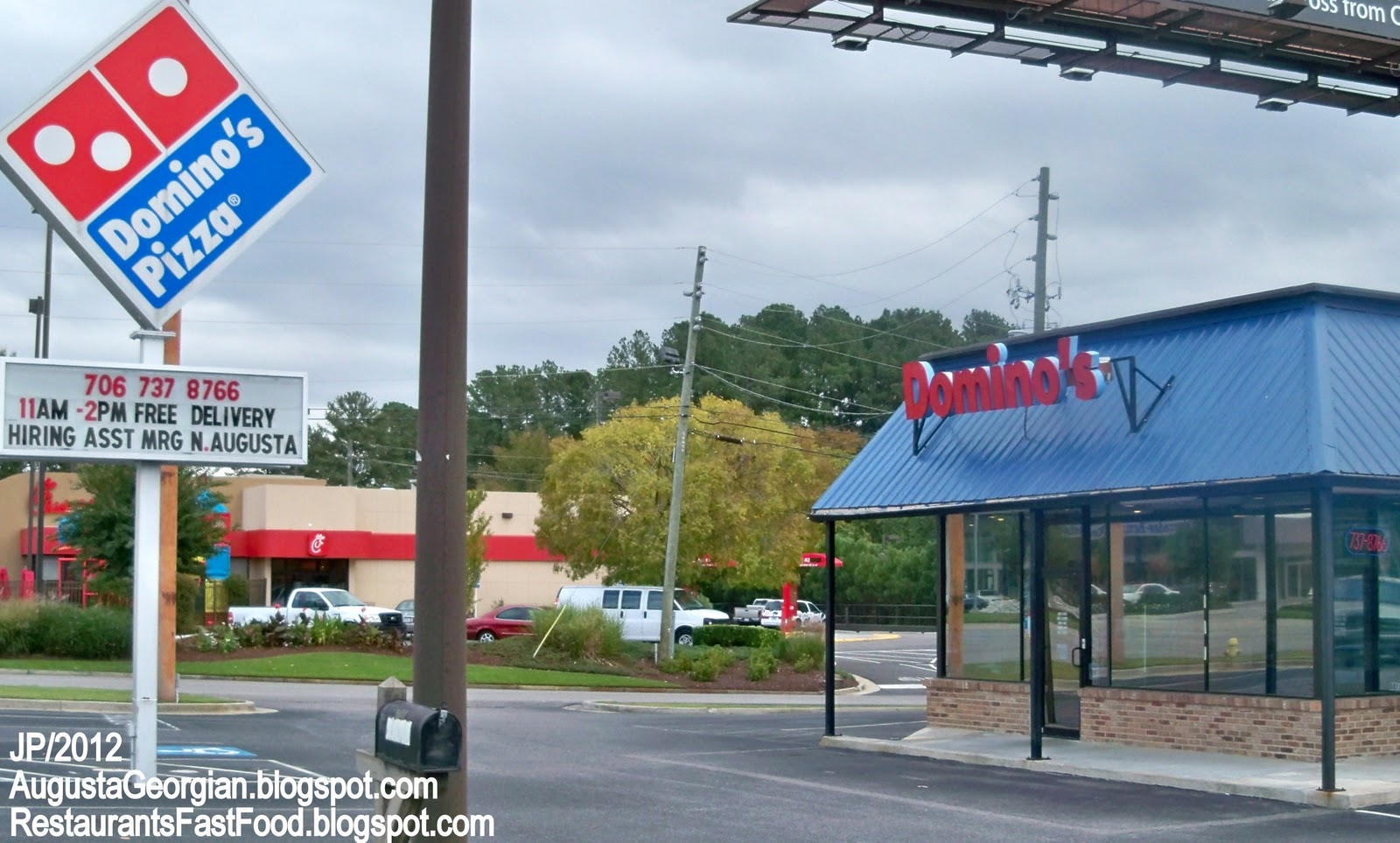 Domino S Pizza Augusta Georgia Washington Road Delivery Take Out Restaurant Richmond County Ga