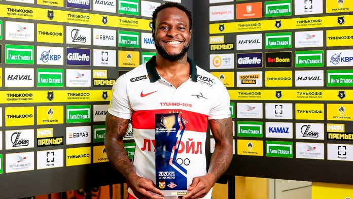 Former Super Eagles star reacts after Man of the Match performance