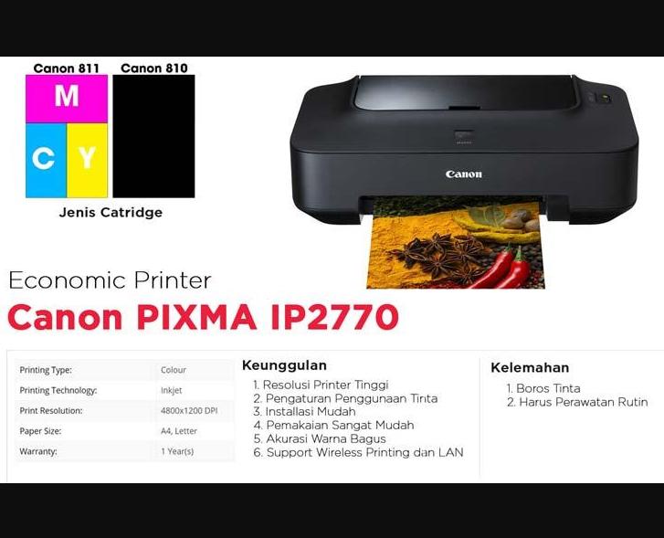 cara download driver printer canon pixma ip2770 gratis