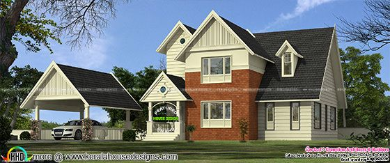 1943 sq-ft Victorian mix contemporary home