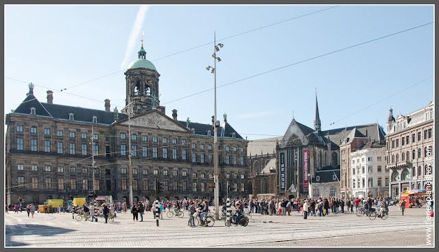 Plaza Dam Amsterdam (Paises Bajos)