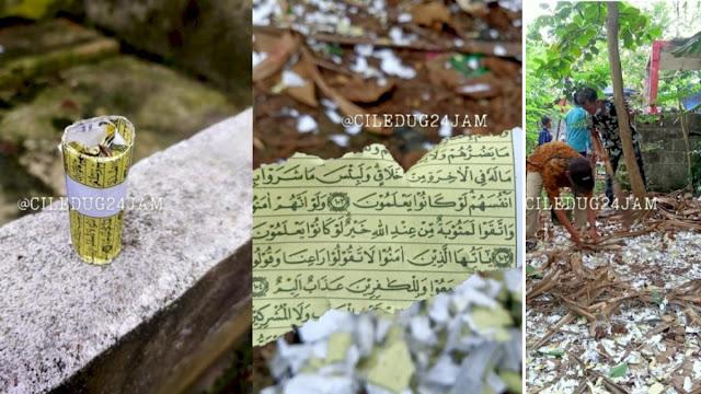 Geger Petasan Berbahan Kertas Ayat Quran di Ciledug, Diledakkan di Acara Pernikahan