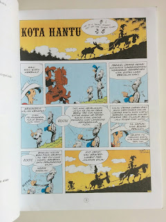 Komik Bekas Lucky Luke Kota Hantu