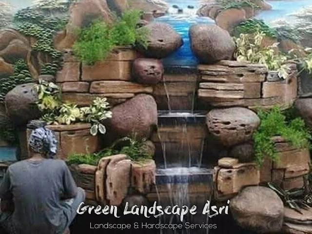 Jasa Pembuatan Relief Kolam Tebing Probolinggo | Tukang Dekorasi Relief Taman