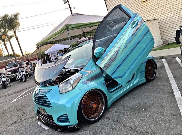 Widebody Scion iQ Show Car