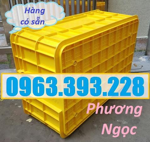 Thùng nhựa có nắp, thùng nhựa đặc HS017, sóng nhựa bít HS017 T%25C4%2590256