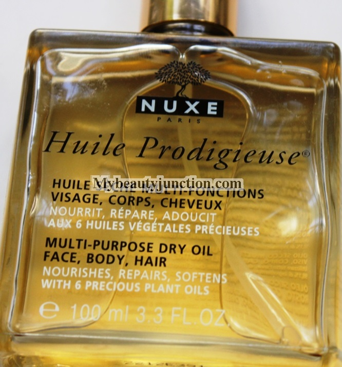 NUXE Huile Prodigieuse Multi-purpose Dry Oil review, usage, photos