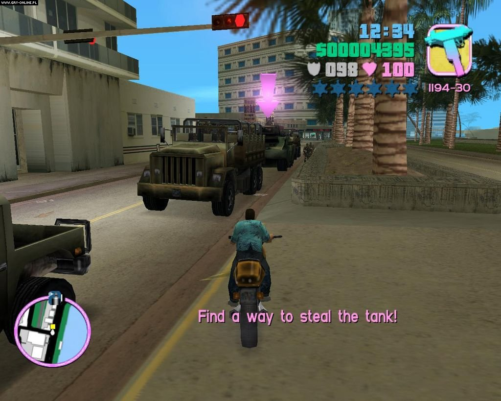Grand Theft Auto Vice City Ps2 - Inside Game-3372
