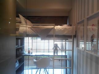 Salah satu contoh desain kamar anak di type 2 kamar