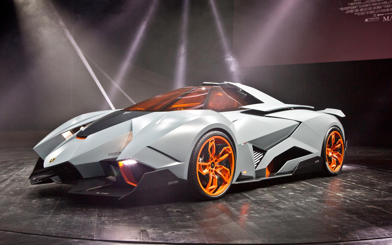 Lamborghini Egoista Concept Front Three Quarters