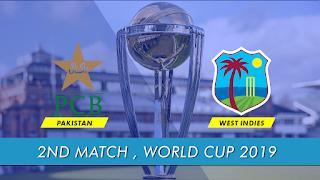 CricketHighlightsz - West Indies vs Pakistan 2nd Match World Cup 2019 Highlights