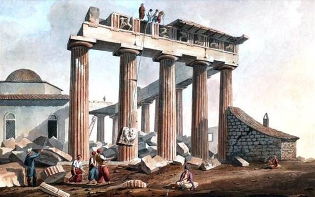 Ο Έλγιν Δεν Είχε Οθωμανικό Φιρμάνι Για Τη Λεηλασία Των Γλυπτών Του Παρθενώνα