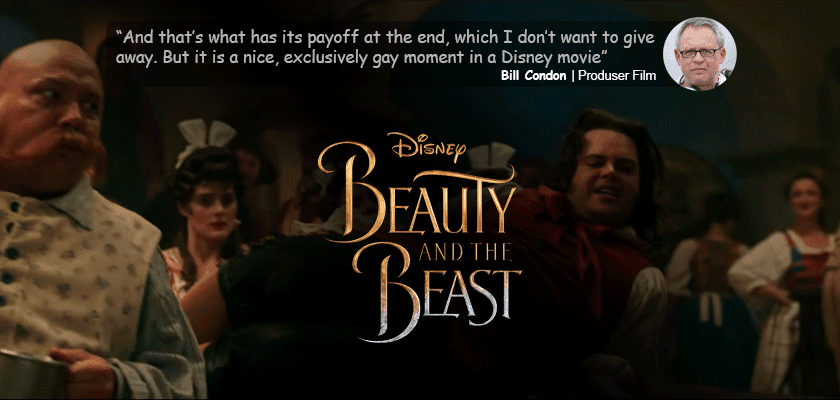 Gay dalam Beauty and The Beast