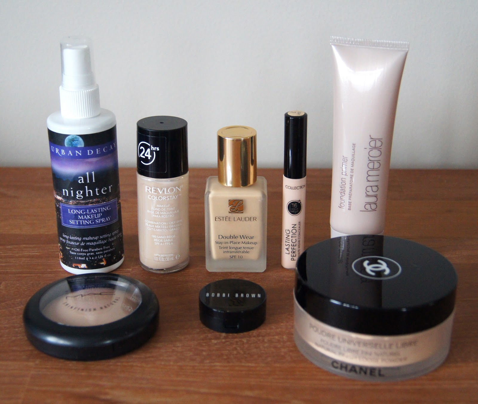 complexion makeup stash staples medium full coverage face products swatches
