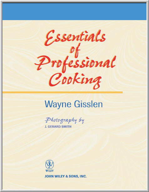 ESSENTIALS OF PROFESSIONAL COOKING   S T R A V A G A N Z A
