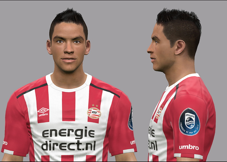 PES 2017 Hirving Lozano (PSV) Face by Litos Facemaker