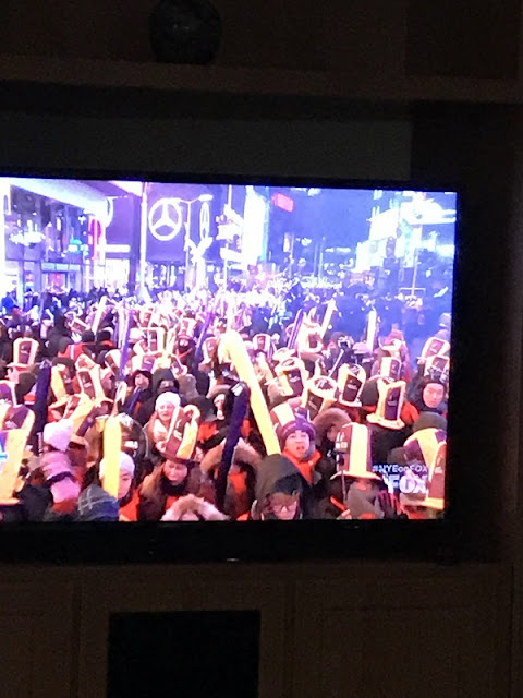 sensationelle Stimmung am Times Square bei Minusgraden. Wir waren dabei!
