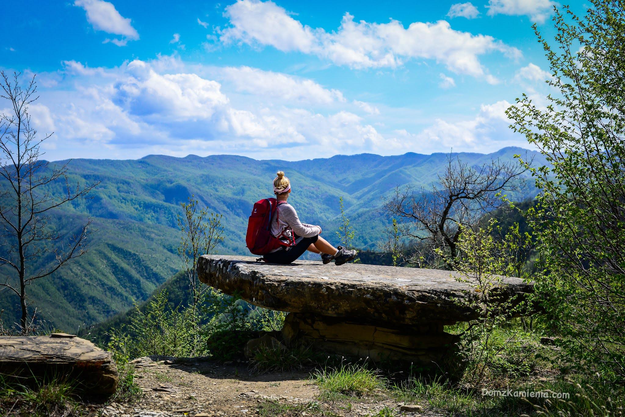 Kasia z Domu z Kamienia, blog, Marradi, trekking