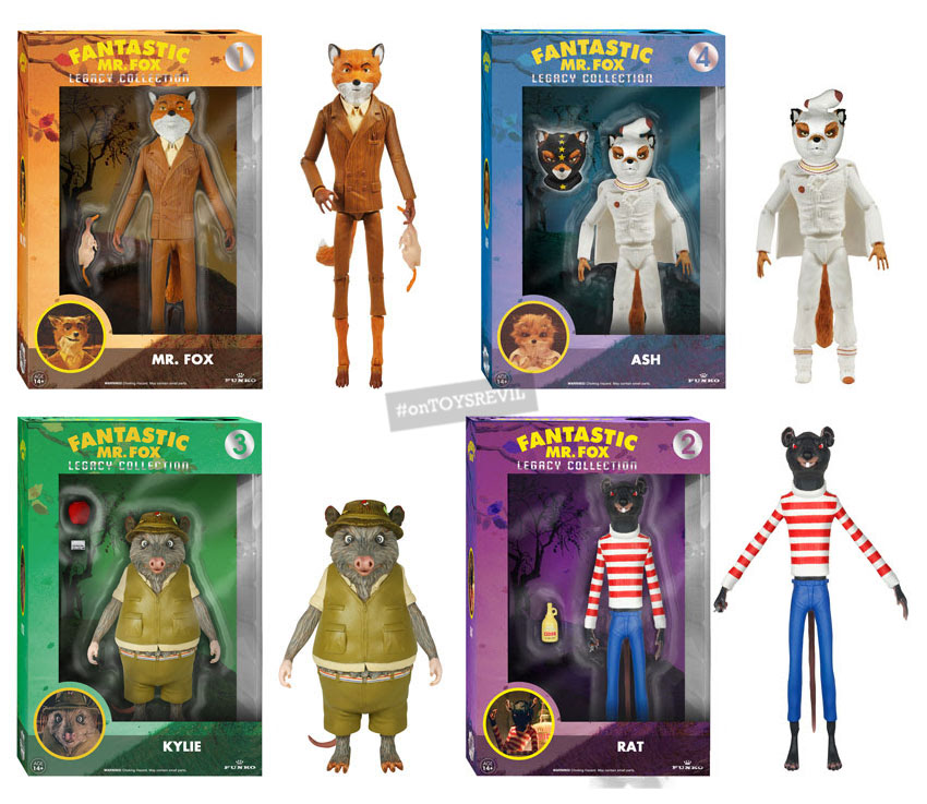 The Legacy Collection Fantastic Mr Fox From Funko