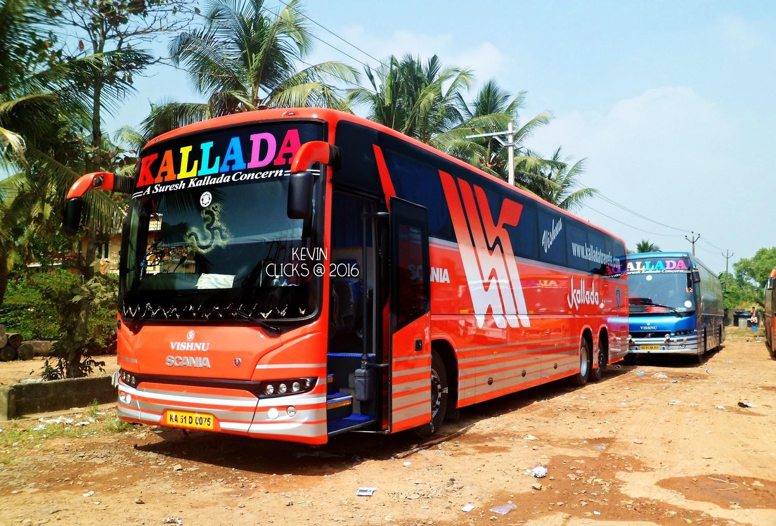 Kallada Travels G4 Bus Booking Online Bus Schedules