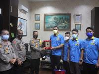 Kapolres Sergai Terima Penghargaan DPD KNPI Serdang Bedagai
