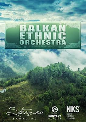 Cover da Library Strezov Sampling - BALKAN Ethnic Orchestra (KONTAKT)