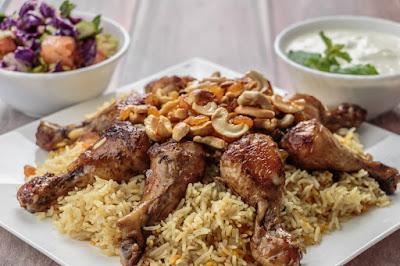 المندي الأردني بالدجاج
