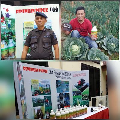 Sosok Brimob Penemu Pupuk Hayati Bio Teratai, Aplikasi di Kampung Sayur Banggakan Kepolisian