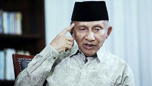 Amien Rais Gak Ngerti Kenapa Prabowo Bertemu Dengan Jokowi