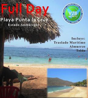 imagen Full day Punta la Cruz mochima