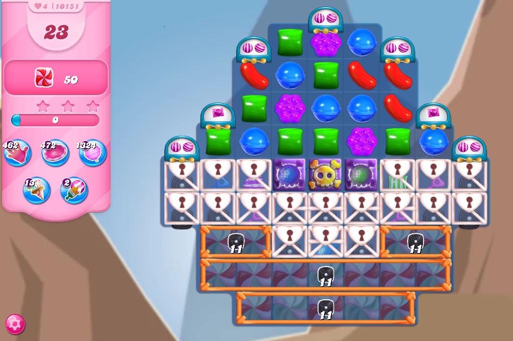 Candy Crush Saga level 10151