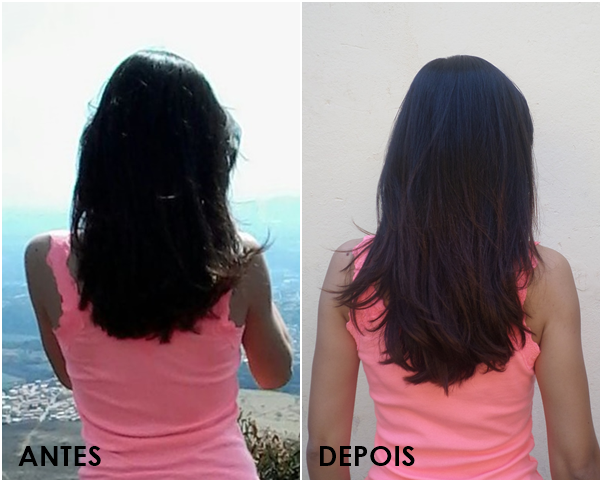 Resenha: Imecap Hair Antes e Depois