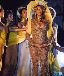 Beyonce Dressed As Oshun