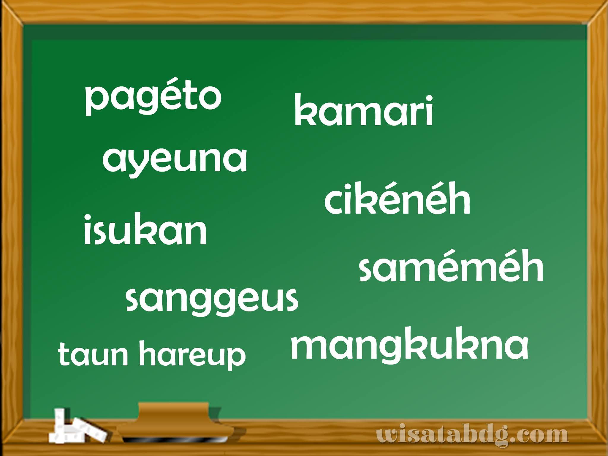 Mengenal Keterangan Waktu dalam Bahasa Sunda Beserta ...