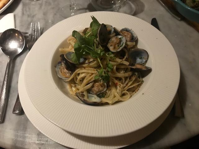 Nonna's, Woburn Sands, Mediterranean, Vongole Linguini,