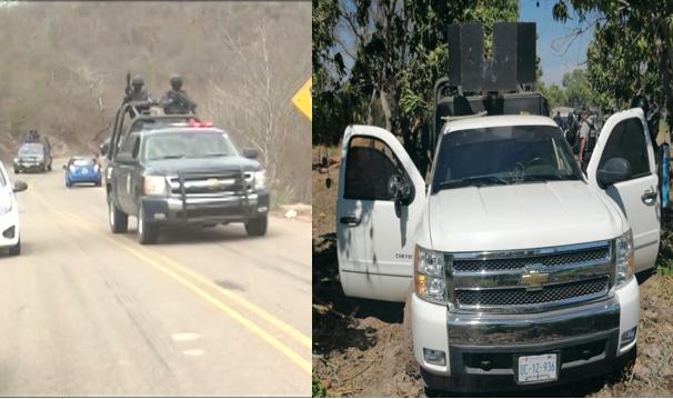 """Video: Que muevan a toda la gente!, """"que levanten los boludos la llama de desesperación de policías en territorio de El Mayo Zambada"""