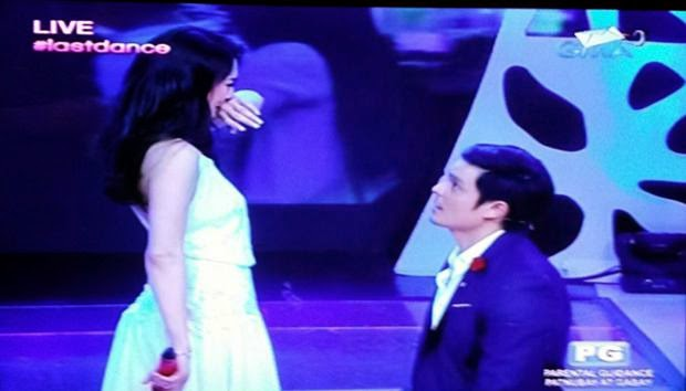 Dingdong Dantes and Marian Rivera are officially engaged on national TV