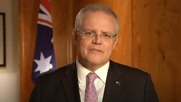 Scott Morrison promises to 'sort out' sex comprehensive can sign posted at his area of expertise