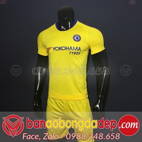 Áo Chelsea sân khách màu vàng 2019