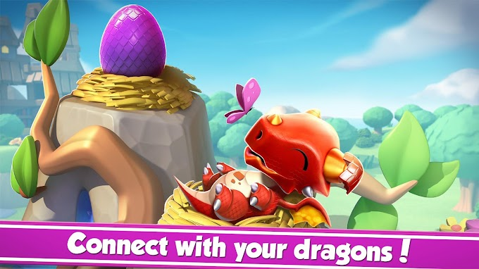 Raise your Dragon in Dragon Mania Legends