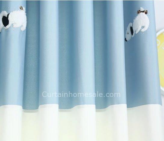 Artistic Baby Boy Nursery Curtains