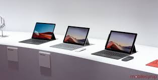 Surface Laptop 3, Surface PRO 7 and Surface PRO X