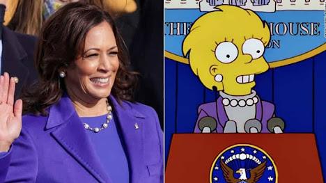 Kamala Harris e as previsões de os Simpsons podem ocultar algo obscuro