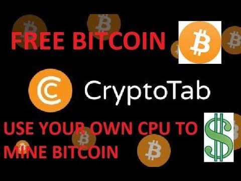 CRYPTOTAB : Earn Bitcoin while using Google Chrome
