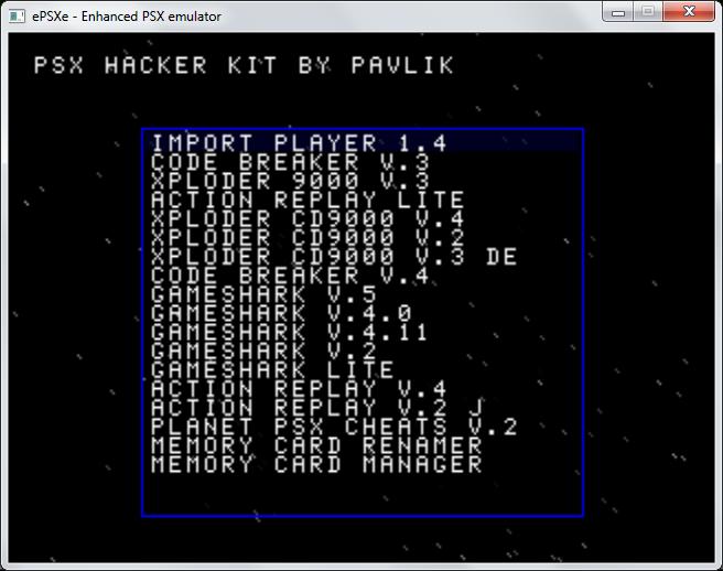 download gameshark untuk emulator psx