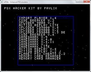 PSX Hacker Kit beta8 19in1 - Kumpulan Hack/Cheat Game PSX/PS1