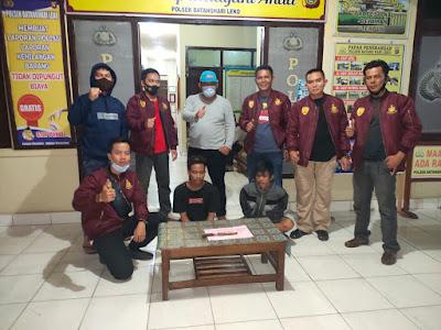 Bawa Sabu dan Sajam Dua Warga Pinggap ditangkap Polsek BHL